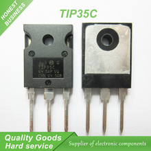 10PCS TIP35C TIP35 TO-247 100V/25A/125W NPN  transistor new original