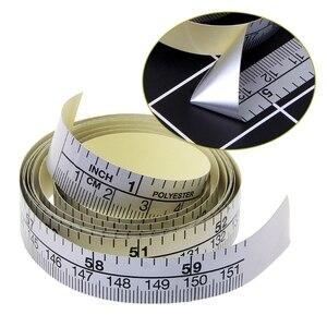 Image 3 - 151 ซม.กาววัดเทปไวนิลไม้บรรทัดสำหรับสติกเกอร์จักรเย็บผ้า