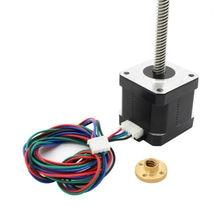 ANYCUBIC 2 шт. NEMA 17 Ходового Винта M8 300 мм Оси Z 3D КОМПЛЕКТ Принтера Шагового Двигателя Для 3D принтер