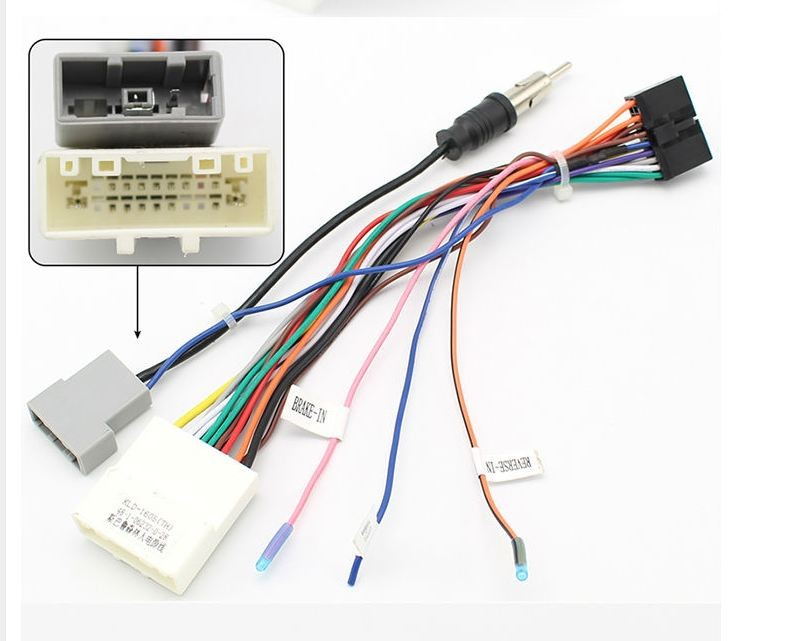 [rear connector ids]  if this works with the harman kardon package 2015 wrx