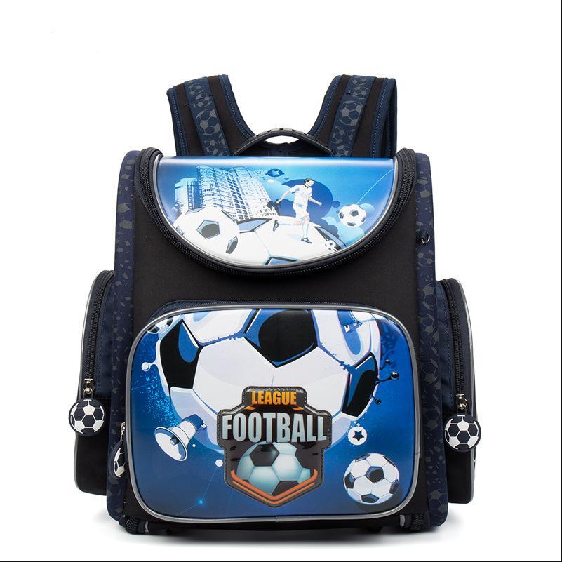 Kid Backpack Escolar School Bags for Boys Primary Bookbag Floral Cartoon Pattern Orthopedic Waterproof Mochila Infantil недорого