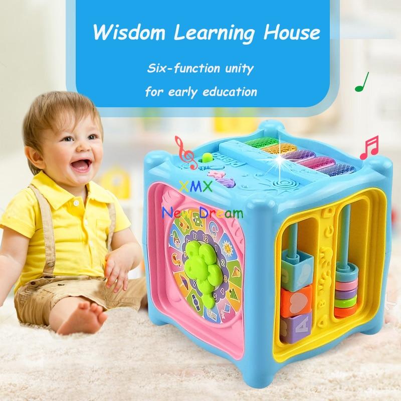 XMXRC. Baby-verlichting Educatieve speelgoedleerkist. Modelleerkit set. Hobby's Kleurrijk Educatief Baksteenspeelgoed