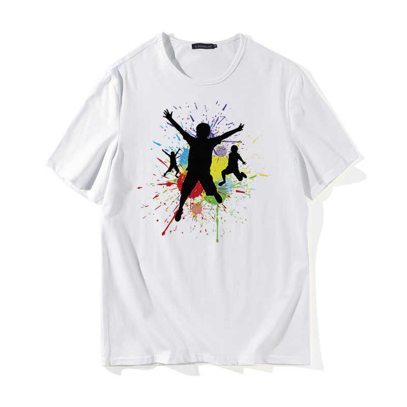 2018 nowy marka koszulki mężczyźni/kobiety z krótkim rękawem topy i koszulki letnie męskie CasualT-koszule Slim modalne pasuje moda mężczyzna 3XL rozmiar X729
