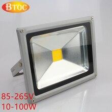 110 V 220 V refletor led iluminación de la pared exterior de acero inoxidable 10 W 20 W 30 W 50 W 70 W 100 W LLEVÓ el reflector proyector de la lámpara de pared luz