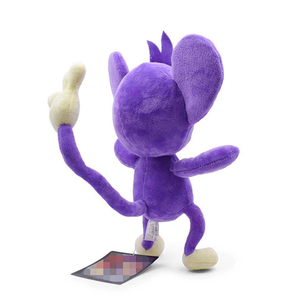 27.5 centímetros 11 ''Aipom Pelúcia Stuffed Toy Boneca Bonito do Anime Brinquedos Macios Para Crianças Caçoa o Presente Kawaii Anime Japonês brinquedos de Pelúcia do macaco