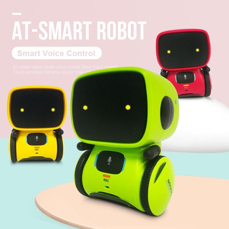 Intelligent Robot Interactif Intelligent Robot Mignon Jouet Robotica Compagnon Jouets Tactile de Détection D'enregistrement Dialogue Jouets pour Enfants