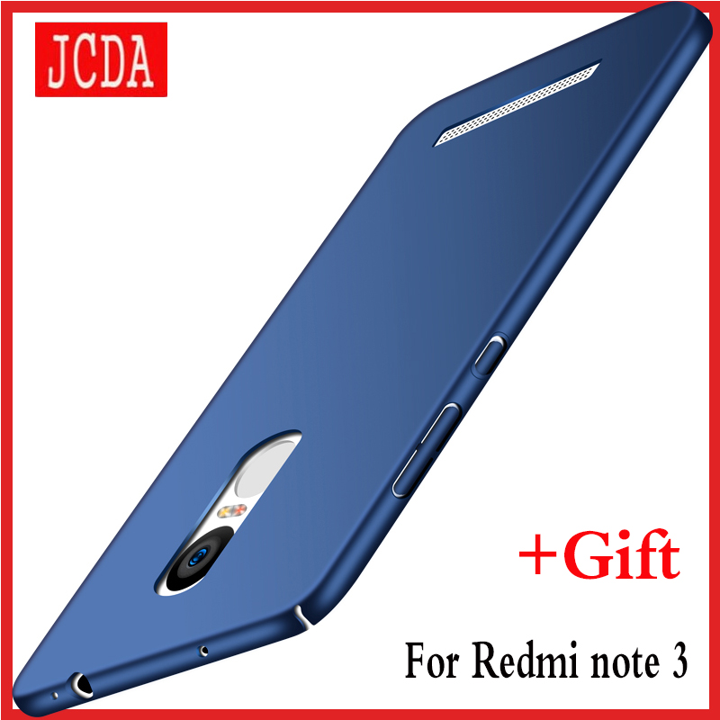 Original JCDA Brand For Xiaomi Redmi note 3 note3 Mobile phone case Silicone scrub cover Luxury