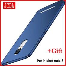 Оригинальный jcda бренд для Xiaomi Redmi Note 3 Note3 мобильного телефона чехол силиконовый Скраб крышка Роскошные Сельма жесткие PC матовый Сзади случаях