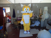 New Sonic the Hedgehog Mascot costume Miles Tails Prower Sonic Mascot costume Cosplay