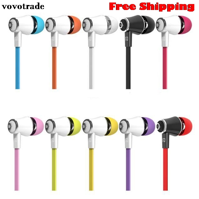 toopoot Universal 3.5mm In-Ear Stereo Earbuds Earphone With Mic For Cell Phone Smartphone Mp3 Hifi Headphone Headset universal nylon cell phone holster blue black size l