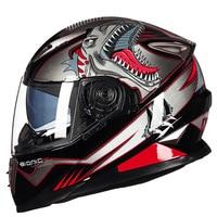 Genuine GXT Men Motorcycle Helmet Flip Up Summer Double Lens Visor Cool Style Winter Moto Scooter