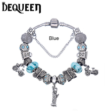 Women Love Heart Beads fit Pandora Bracelets & Bangles DIY Jewelry Pulseras