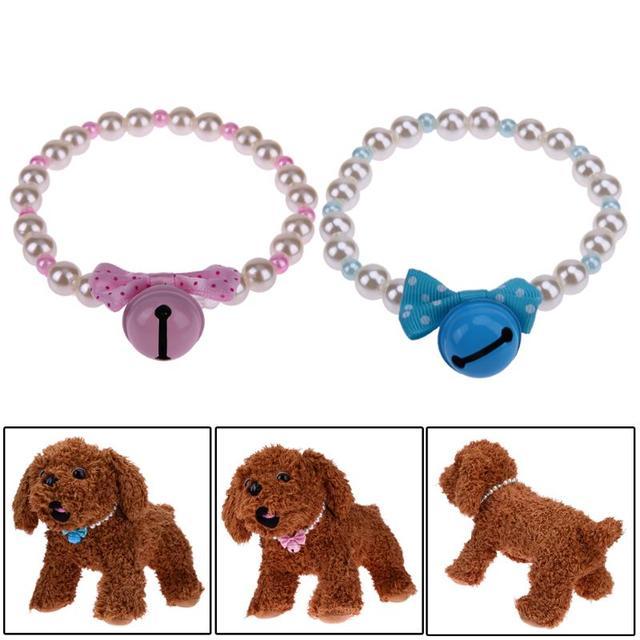Collier bijoux pour petit chien