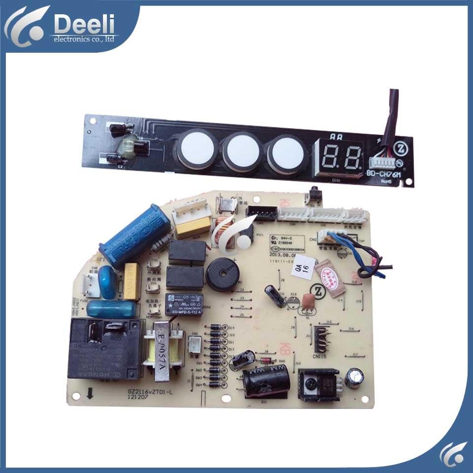 2pcs/Set air conditioning Computer board DK-26A3-VT GZ2116vZT01-L display board CH76M used pc board air conditioning accessories board 0010400526 used disassemble