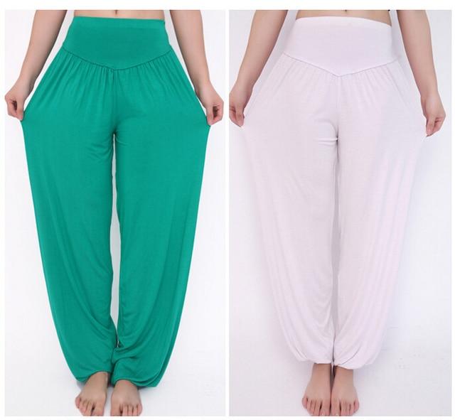 Aliexpress.com : Buy Women Yoga Pants Modal & Lycra Fabric