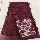 Wine Red 3D French L...