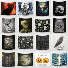 Hot sale halloween tapestries wall hanging tapestry home decoration tapiz pared 1500mm*1500mm
