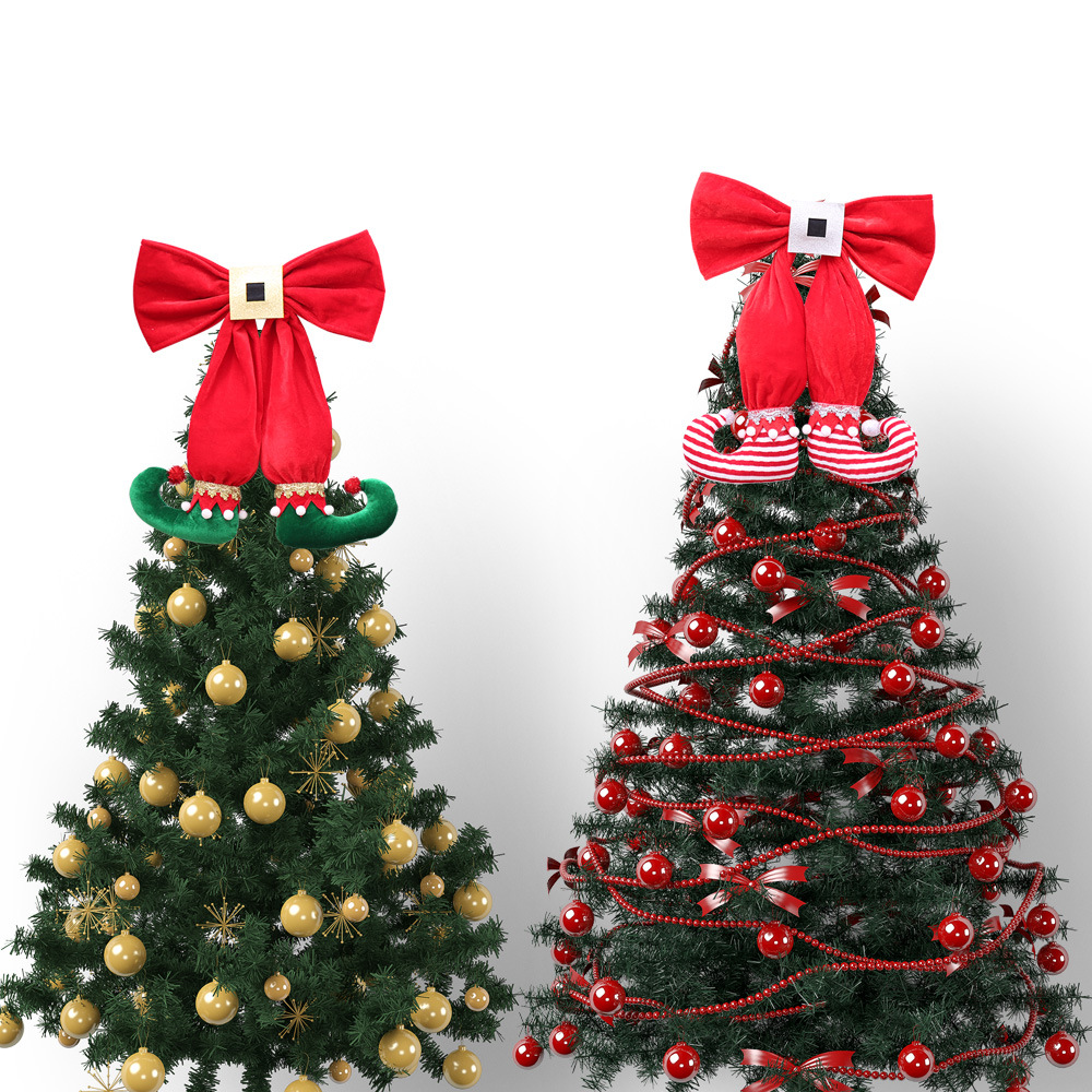 Aliexpress.com : Buy Christmas Tree Ornaments Large Elf Legs Red ...