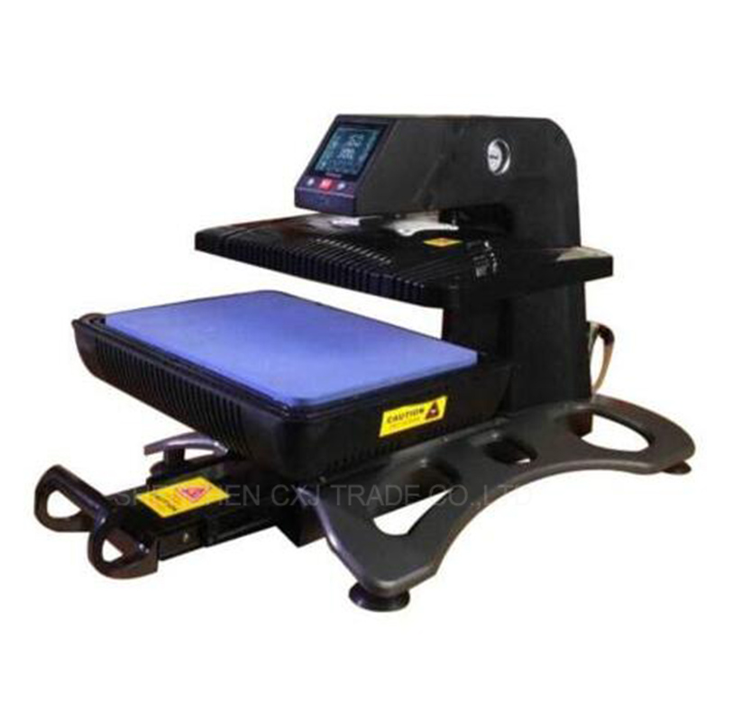 1pcs ST-420 Multiple Auto Pneumatic 3D Sublimation Vacuum Heat Press Transfer Machine for phone case mugs T-shirt pneumatic heat press machine t shirt for sale double hot plate lcd table