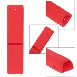 Image 5 - Silicone Protective Cover Case For Samsung Smart TV Voice Version Remote Control UA55KU6300J UA55KU6880J UA49KS7300  Dropship