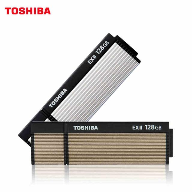 8d3ccc9949c Original TOSHIBA TransMemory-EX2 USB Flash Drives 32GB 64GB 128GB USB 3.0 Pen  Drive Plastic