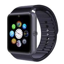 Android Reloj Inteligente Reloj GT08 con Tarjeta SIM TF Cámara Bluetooth Deporte Empuje Mensaje Conectividad Teléfono iOS Android Smartwatch