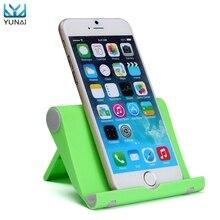 YUNAI Universal Tablet Stand de Support Nouveau Bureau Station Portable Stand Support de Montage pour iPhone Pour iPad Pour Samsung