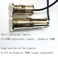 Cctv Door Eye Hole Color Mini Camera 2 8mm Lens 480TVL 700TVL 1 4inch CMOS Sensor