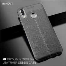 For Huawei Y9 2019 Case Silicone Shockproof Luxury Leather Anti-knock Case For Huawei Y9 2019 Cover For Huawei Enjoy 9 Plus Case зеркало карлоса сантоса 2019 10 24t19 00