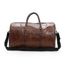 Wobag, модная спортивная сумка для спортзала, мужские и женские сумки, новинка, ПУ сумка для путешествий, большая вместительность, водонепроницаемая сумка для багажа на короткие расстояния