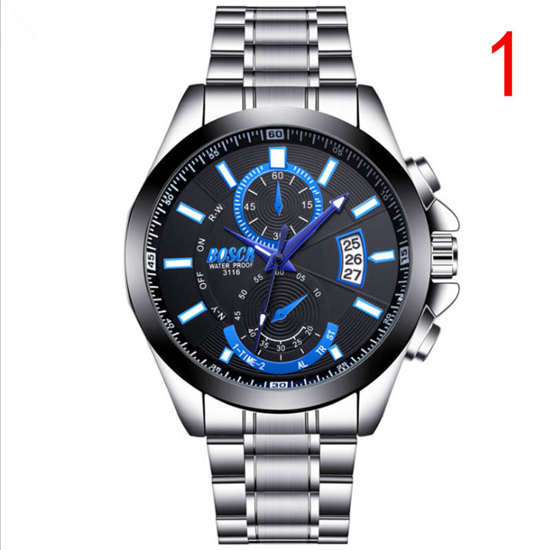 Counter genuine mens watch waterproof automatic quartz watch ultra-thin fashion non-mechanical mens watchCounter genuine mens watch waterproof automatic quartz watch ultra-thin fashion non-mechanical mens watch