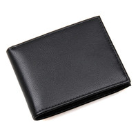 J.M.D Genuine Leather RFID Function Wallet Hot Selling Credit Card Purse Classic And Solid Black Card Wallet R 8135A