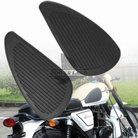 Motorcycle Oil Gas Tank Rubber 3M Protector Anti Slip Pad Sticker Bumper Body Side Stickers Side