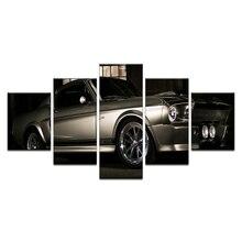 64852155f Pcs 1967 Mustang Shelby 5 GT500 Eleanor Super Carro Cartazes E Impressão  Tecido De Seda De