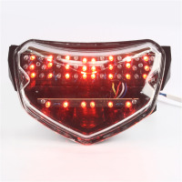 Motorcycle Tail Brake Light Lamp LED Turn Signals Integrated For Suzuki GSXR GSX R 600 750