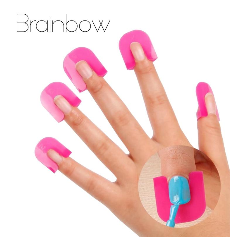 26pcs set Creative Nail Polish Spill Resistant Manicure font b Finger b font Cover Nail Polish