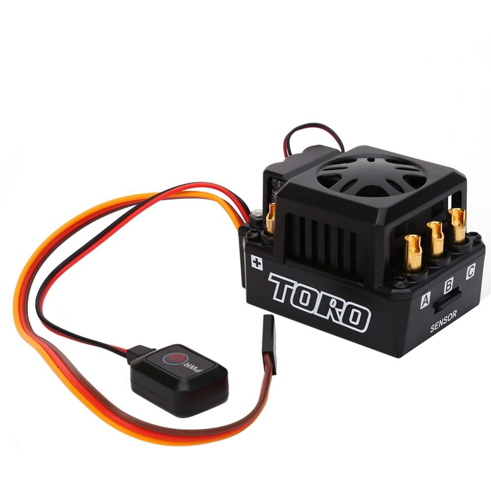 TS150 150A ESC Sensored RC Brushless Motor ESC Sensored For 1/8 Buggy Truggy And Monster Truck
