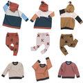 Nuevo Pequeño Suéter de Algodón Para Niños Ropa para niños Niños Niñas de Punto Suéter Cardigans Boy Pullover Invierno Tire Hiver Fille Garcon