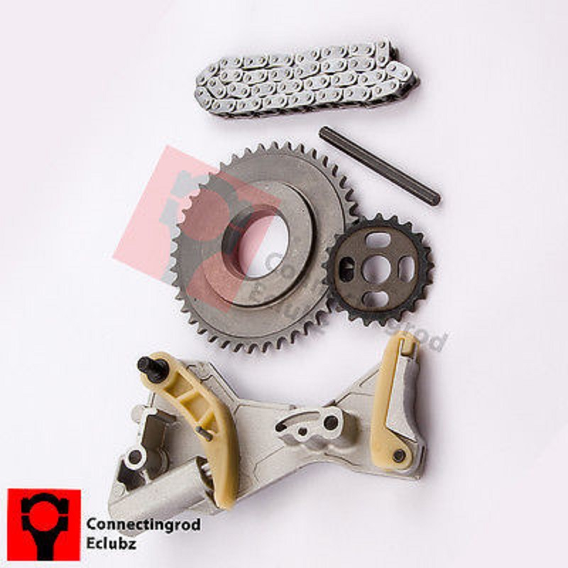 Oil Pump Chain kit Crank Sprocket for Audi A4 A6 VW Passat 2.0TDI 03G115230 03G115281D 03G115281F 03G115124D 03G103333E 01m 01p auto transmission pump fit for audi vw 01m 095 096 01p 098 ag4 4 sp fwd refurbishment