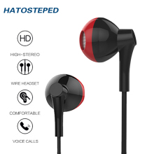 Wired Earphone 3.5mm earphone For Phone Stereo Sound Headset In-Ear Earphone With Mic Earbuds Earpiece Fone De Ouvido kulaklik