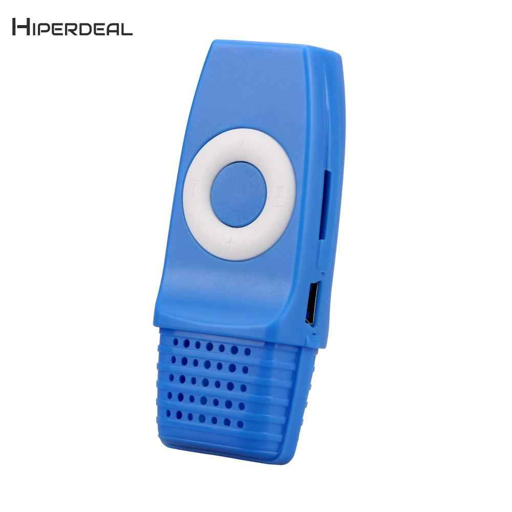 Moda portátil Mini reproductor de MP3 Digital música Media mp3 deporte corriendo música teléfono MP3 reproductor módulos niños regalo QIY06 D23