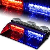 Mayitr 16led Signal Car Led Flashlight Safety Fireman Police Emergency Police Window Sign Warning Light 02001