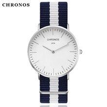 CHRONOS 2017 Reloj de Cuarzo Marca de Lujo de Los Hombres Relojes Casuales Mujeres Reloj reloj Relogio masculino Montre Femme Hodinky Ceasuri