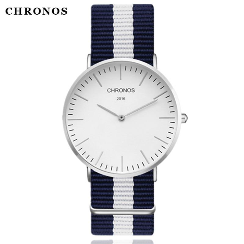 CHRONOS 2017 reloj de cuarzo marca de lujo hombres relojes mujeres reloj Hodinky Ceasuri Relogio Masculino Montre Femme