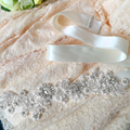 TOPQUEEN S157 Free Shipping Pure Handmade Charming Wedding Belt Rhinestone and Pearls Beaded Bride Belt Wedding Sashes
