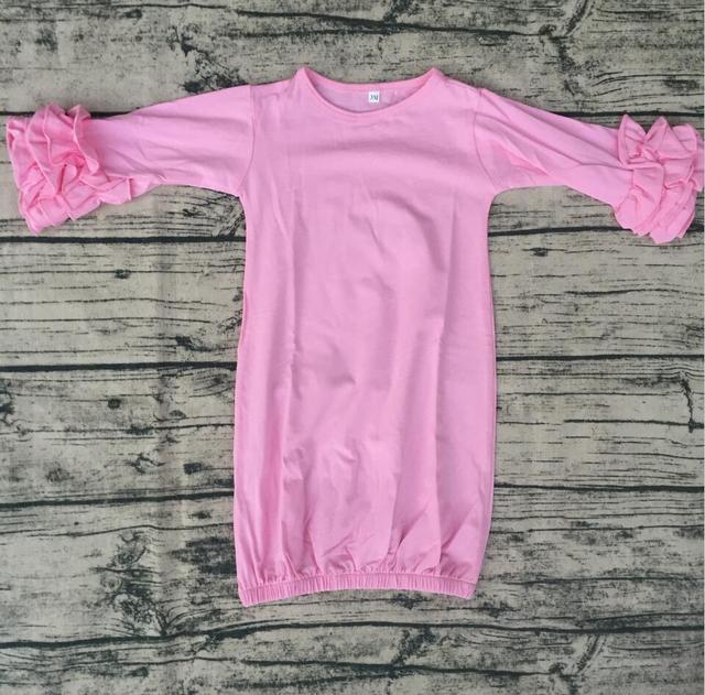 New blank baby girls children clothing kids ball gowns sleeping ...