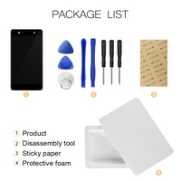 For Cubot Magic LCD Display+Touch Screen Assembly Replacement Parts Phone Accessories+Tools+Adhesive For Cubot Magic