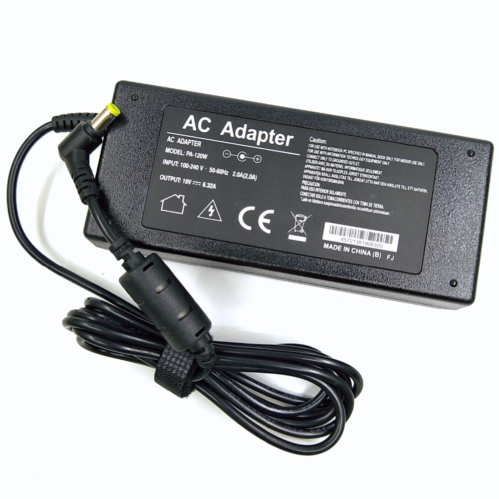 Power Adapter For ACER 19V 6.32A ADP-120ZB BB 120W Aspire 5943G 5950G 8942G DC:5.5*1.7mm Notebook Laptop AC Adapter Charger image