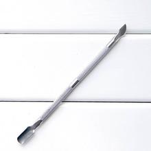 Gorący skórek kopytko do skórek na paznokciach Remover Manicure Pedicure trymer narzędzia pilnik do paznokci wyt77 tanie tanio Stainless Pusher skórek Length