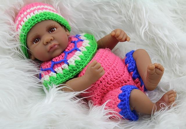 Newborn Babies Dolls 10 Inch Vinyl Black Boy Baby Alive ...